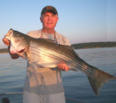 Tom Reynolds guide on Lake Norfork Arkansas